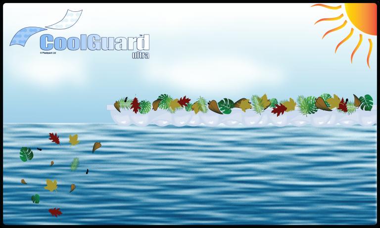 CoolGuard™ Ultra debris landscape w logo